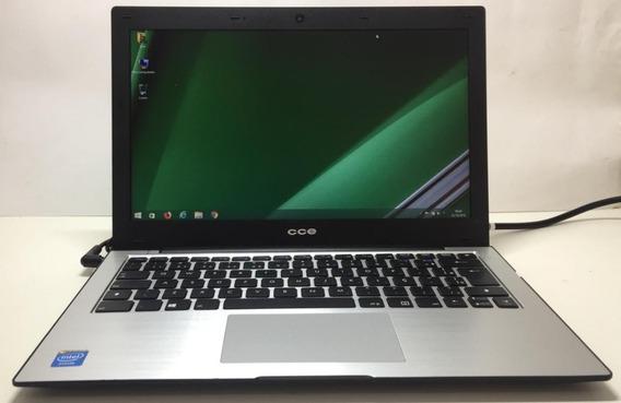 Notebook Cce Ultra Fino Intel Celeron 500gb Windows 13,3