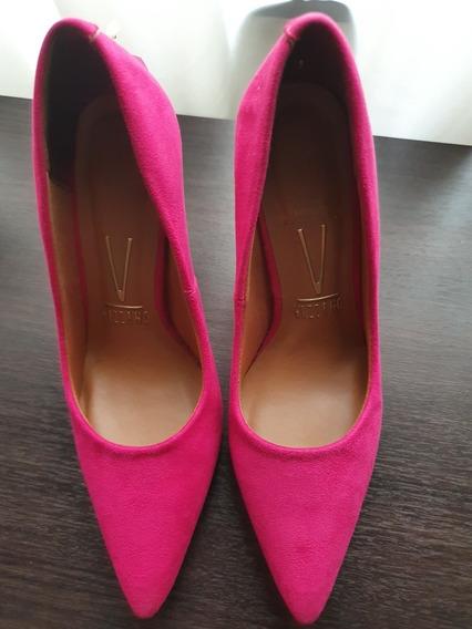 Zapato Stiletto Fucsia