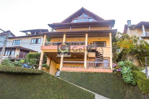 Casa Em Condomínio- Petrópolis, Retiro - 487