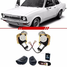 Kit Vidro Elétrico Dianteiro Sensorizado Chevrolet Chevette