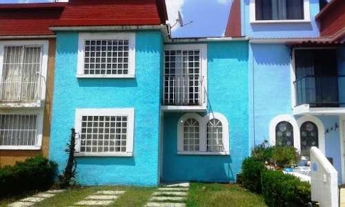 Bonita Casa En Renta Con Vigilancia Privada 24 Hrs. Exclusivo Conjunto Residencial Lago De Gpe.