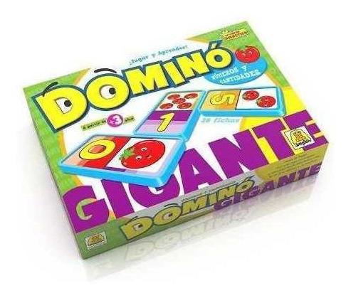 Domino Gigante Numeros Y Cantidades Juego De Implas Cod 64