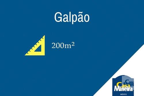 Imagem 1 de 1 de Galpão À Venda No Barro Preto - Código 15155 - 15155