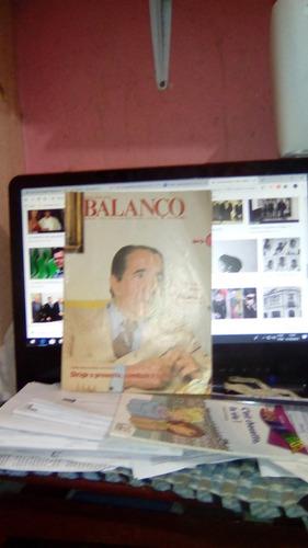 Livro Revista Balanço Financeiro Walther Moreira Salles 1980