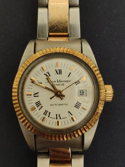 Relógio Feminino Jean Vernier Geneve Automatic