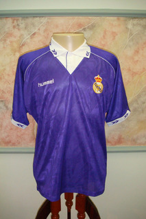 Camisa Futebol Real Madrid Espanha Hummel Antiga 788