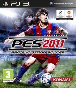 Jogo Pro Evolution Soccer 2011 Pes Ps3 Mídia Física Futebol