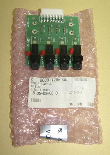 Tarjeta Fusible Pwb P-5289a / B000011285906. Cod. 00462