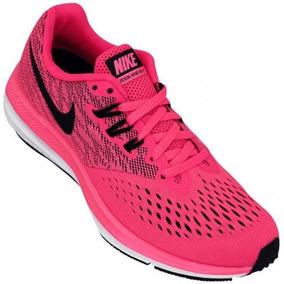 Tênis Nike Feminino Zoom Winflo 4 Rosa Original Frete Grátis