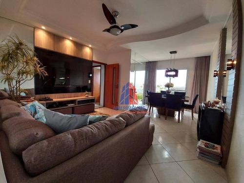 Apartamento Com 3 Dormitórios À Venda, 80 M² Por R$ 320.000,00 - Parque Fabrício - Nova Odessa/sp - Ap1544