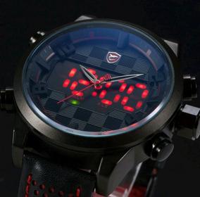 Relógio Masculino Shark Original Pronta Entrega Promoção