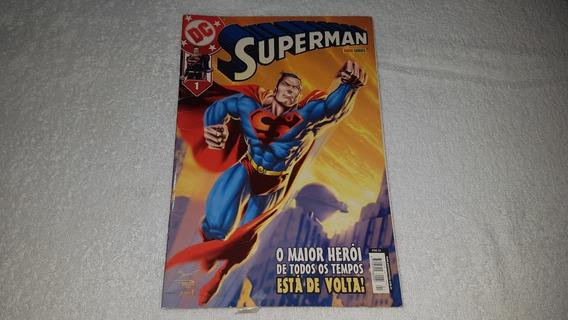 Hq Superman Nº 1 (1ª Série) - Ed. Panini - 2003 - F. Álbum