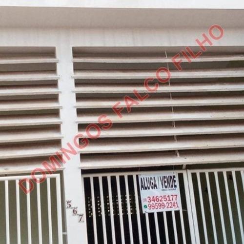 Locação - Casa - Jardim São Domingos - Americana - Sp - D5568