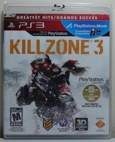 Jogo De Ps3 Killzone 3 Dublado. Em Mídia Física .