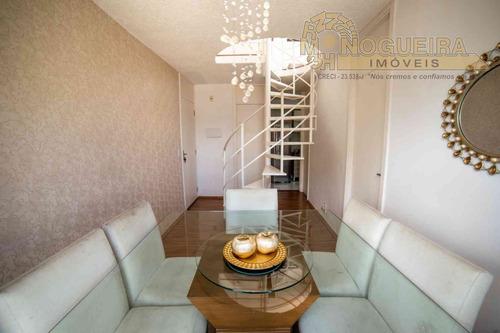 Apartamento Duplex Mobiliado E Decorado Bem Iluminado E Aconchegante. - 3082