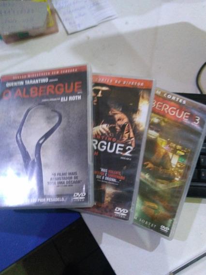 O Albergue 1,2 E 3 Dvd Original Usado