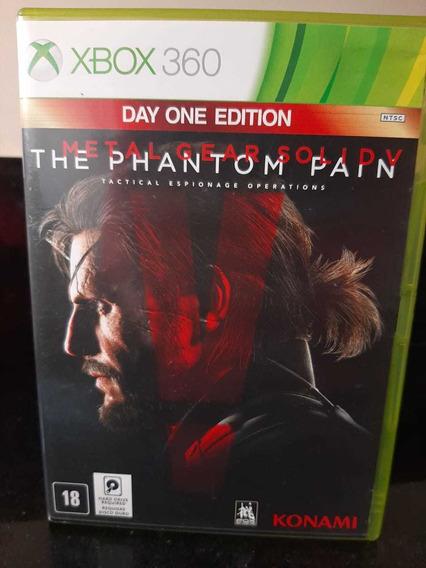 Jogo Usado Xbox 360 - Metal Gear Solid V The Phantom Pain