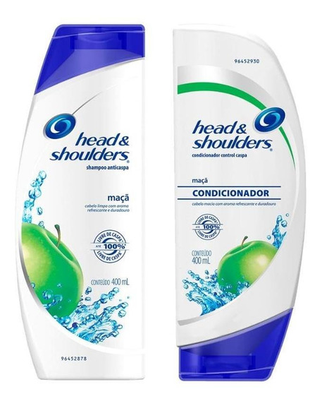 Kit Head & Shoulders Anticaspa Maçã Fem. 400ml Shaampo+cond.