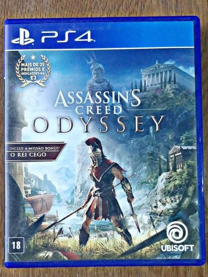 Assassins Creed Odyssey - Ps4Mídia Física