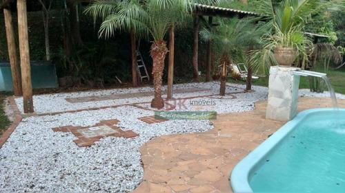 Imagem 1 de 25 de Chácara Com 3 Dormitórios Mais 1 Chalé À Venda, 8300 M² Por R$ 600.000 - Freitas - São José Dos Campos/sp - Ch0495