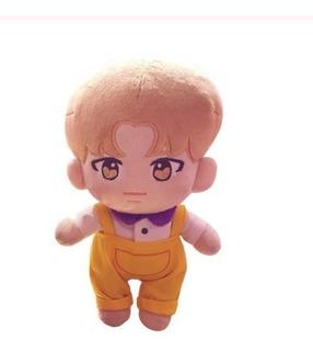 Jimin Doll Bts Bangtan Kpop Muñeco Chibi Peluche Kawaii 23cm