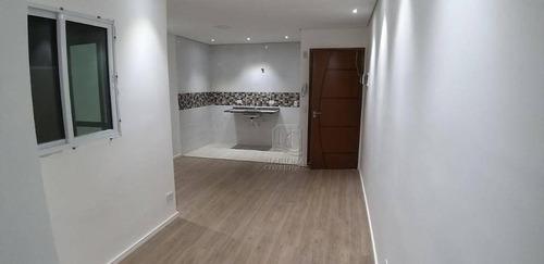 Apartamento Com 2 Dormitórios À Venda, 52 M² Por R$ 275.000,00 - Vila Cecília Maria - Santo André/sp - Ap12166