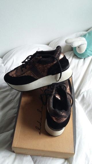 Zapatillas Con Plataforma 38