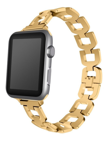 Correa De Reloj De Acero Inoxidable Para Apple Watch 1/2/3