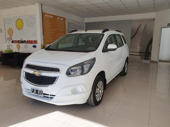 Chevrolet Spin 1.8 Mt 2016 Blanco