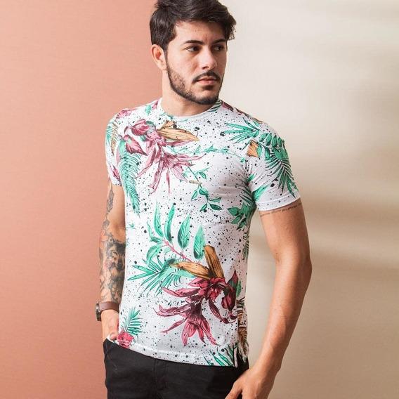 Camisas Flóridas Lançamento Para Seu Dia A Dia!!