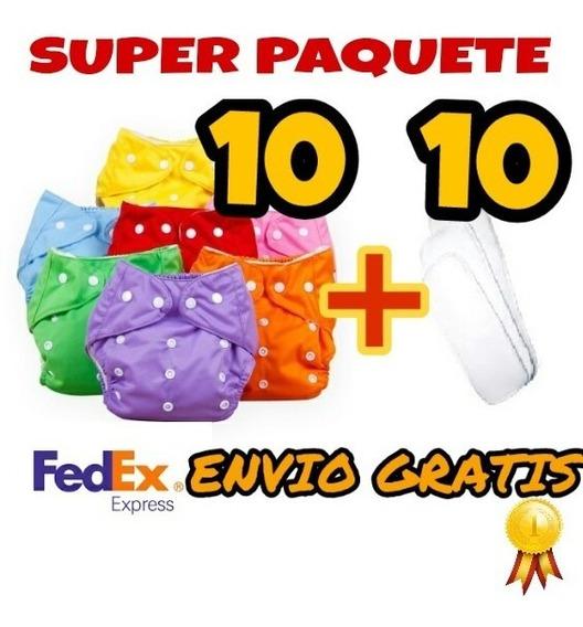 Pañales Ecologicos 10 + 10 Insertos