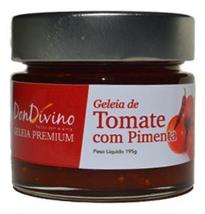 Imagem 1 de 1 de Geleia De Tomate Cereja Com Pimenta 190g  - Don Divino
