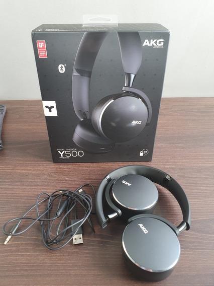 Fone Samsung Akg Y500 On-ear Bluetooth Preto