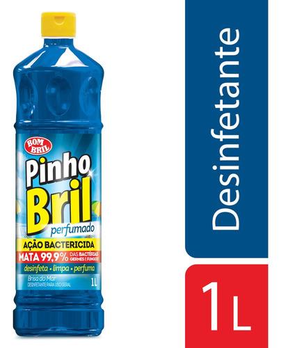 Imagem 1 de 1 de Desinfetante Pinho Bril Brisa Do Mar 1l