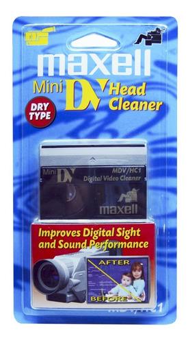 Cassette Limpiador De Cabezas Mini Dv Para Camara  Minidv