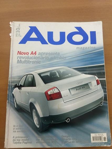 Revista Audi Magazine Outubro 2001 Novo Audi A4