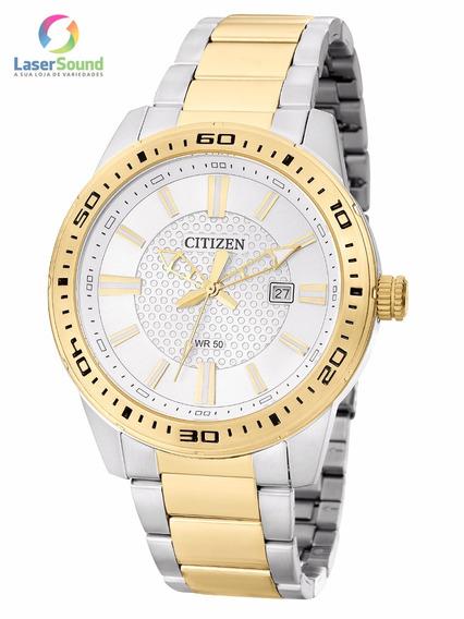 Relógio Citizen Masculino Tz20493b, C/garantia E Nf