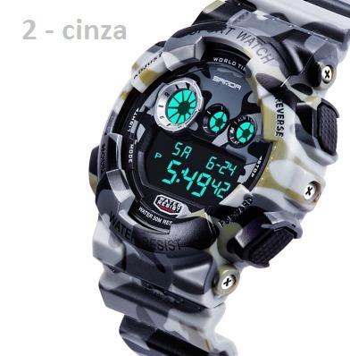 Relógio Modelo G Shok Com Nota 100% A Prova D Aguas Re