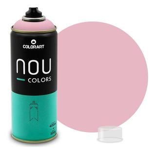 Tinta Spray Colorart Nou Colors P/ Grafiteiros - Rosa Boneca