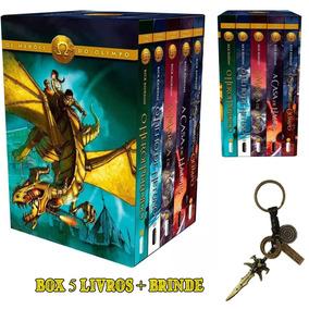 Percy Jackson Box Os Heróis Do Olimpo + Brinde 12x Sem Juros
