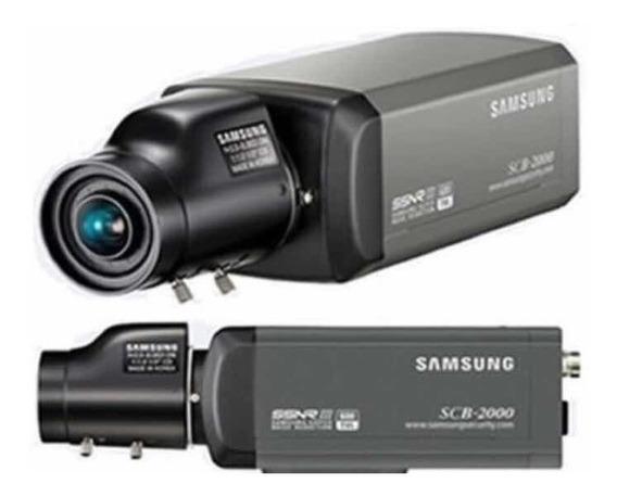 1 Kit Cm 8 Câmeras Samsung Scb 2000 Com Lente 2.8 Mm -12