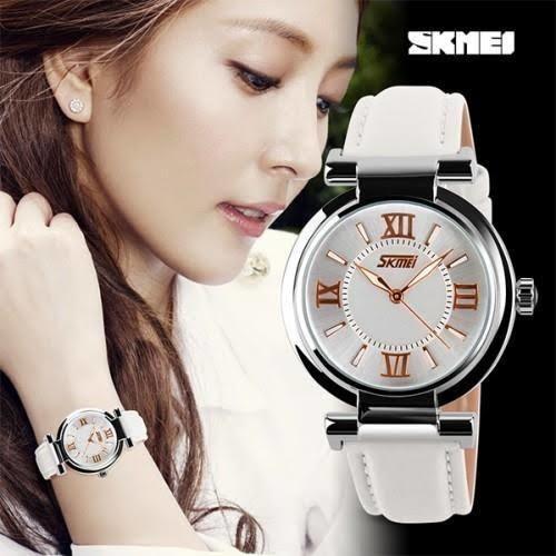 Relógio Feminino De Luxo Marca Skmei Barato Na Promoção