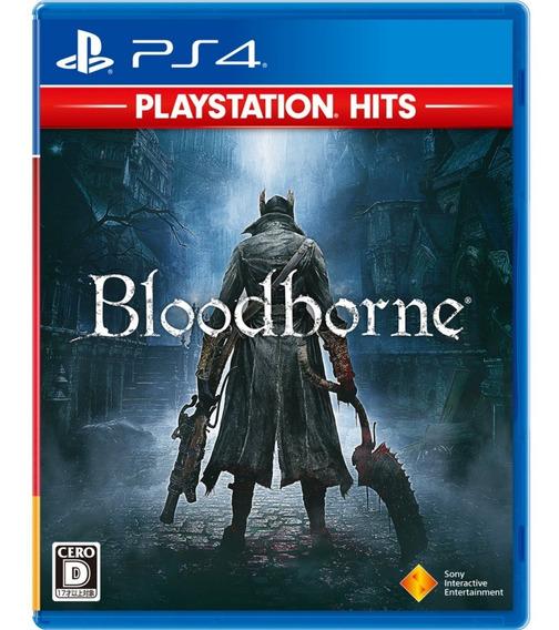 Jogo Bloodborne Playstation Hits - Ps4 - Lacrado