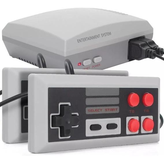 Mini Vídeo Game 620 Jogos Clássicos Retrô Com 2 Controles