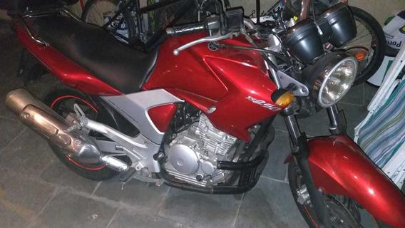 Yamaha Fazer 250 Vermelho Cereja