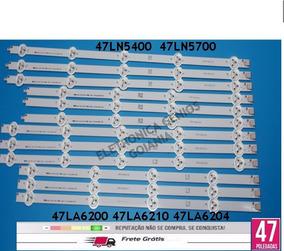Kit Completo De Barras 47la6210 47la6204 47ln5400 47ln5700