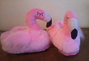 Pantufa 3d Flamingo