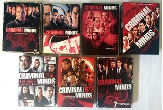 Série Criminal Minds - 1ªa7ª Temporada Completas - Original