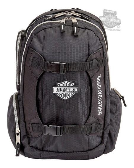 Harley Davidson Mochila Bar & Shield Original Importada Eua