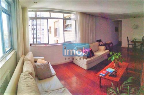 Imagem 1 de 15 de Apartamento Com 2 Dormitórios À Venda, 95 M² Por R$ 450.000,00 - Gonzaga - Santos/sp - Ap7814